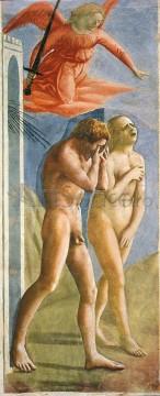 Izgonirea din Rai, Masaccio