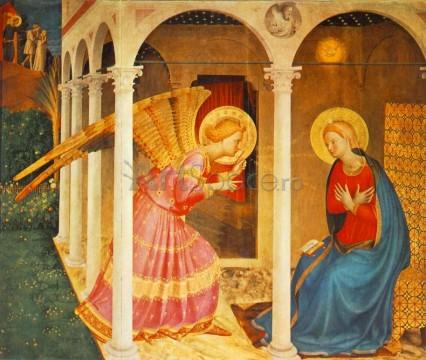 Buna Vestire, Fra Angelico